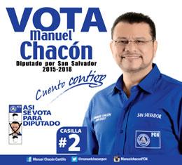 Vota Manuel Chacon
