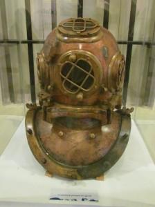 Escotilla, del barco SS douglas, otra de las embarcaciones que han naufragado en El Salvador. La pieza es expuesta en el Museo Tecleño (MUTE).