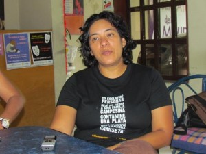 Marily llegó como motorista a MT, ahora es una abogada que apoya a las obreras para llevarlas al conocimiento de sus derechos y deberes.