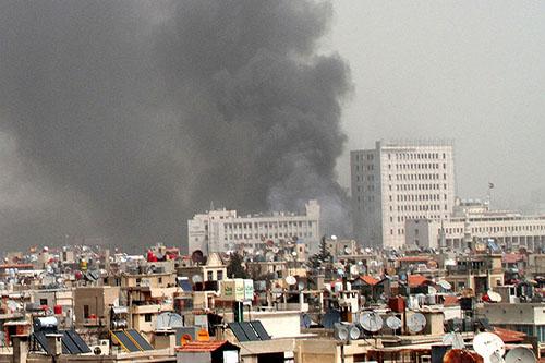 Blast rocks downtown Damascus