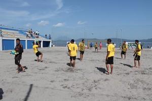 playa futbol