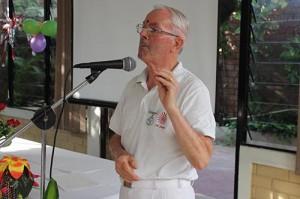 Felipe Prieto, profesor de Brahma Kumaris, en Guatemala.