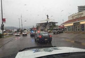 Ambiente en México ante primeras lluvias de Patricia.