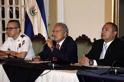 Conferencia Posicionamiento del Gobierno ante Graves Hechos Crim
