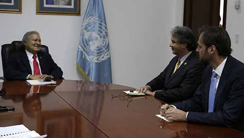 Reunión con Representante del PNUD.