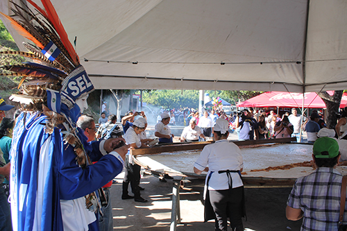 El Indio Cuscatleco ya es parte de los festivales.