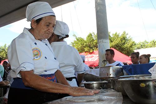 La septuagenaria María Barrera es un ícono en la tradición.