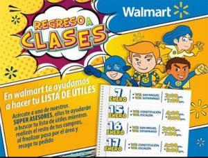 Wallmart Regreso a Clases