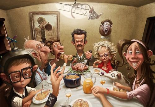 familia toxica