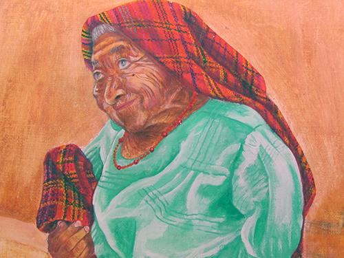 Pintor Dante Rasgos Originarios