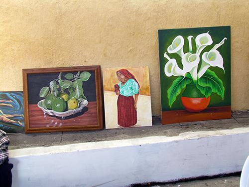 Pintor Dante obras creadas