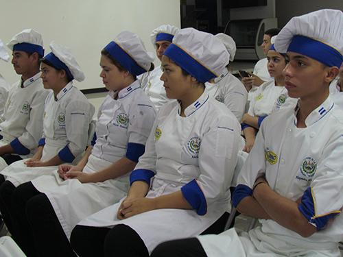 Estudiante de la Academia de Arte Culinario.