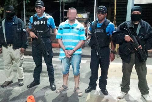 Irvi, peligroso pandillero de La Unión fue capturado en Honduras