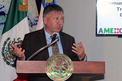 Lothar Rast, Director del Fondo Conjunto México-Alemania.