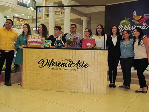 Grupo emprendedor, listo para DiferenciArte.