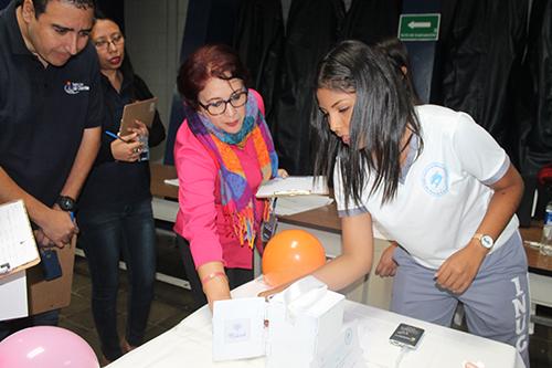 Proyecto Medicool, de alumnos del Instituto Nacional de Nuevo Cuscatlán.