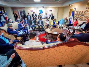 Reunión de la Comisión Política de la Asamblea Legislativa discuten sobre ratificación