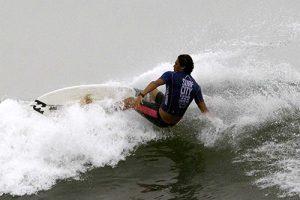El campeonato mundial de Surf