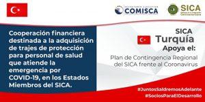 Turquía dona $50 mil a Centroamérica