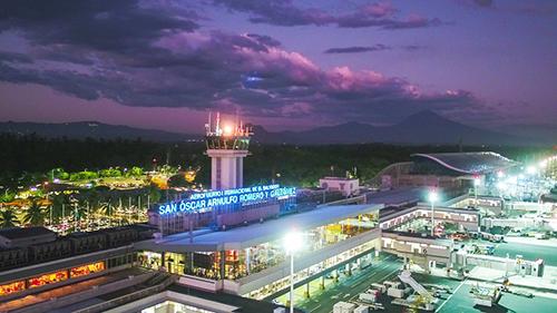 Así  luce el aeropuerto internacional. Su reapertura será entre el 4 de septiembre y el 4 de octubre.