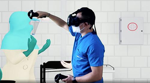 Capacitador virtual de personal de salud, Medix Lab.