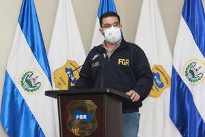 Fiscal General, Raúl Melara, acusa a Funes Cartagena y cinco más.