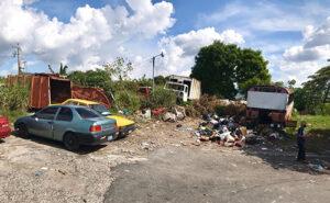 Predio donde se construiría el CUBO de Mejicanos.