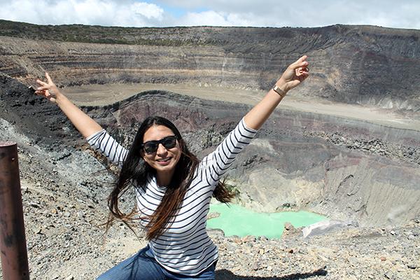 Escalar el volcán de Santa Ana, una opción durante la reactivación del turismo.