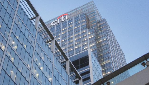 Fachada de Banco Citi