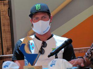 Noe Mar McGonagle, actual campeón costarricense.